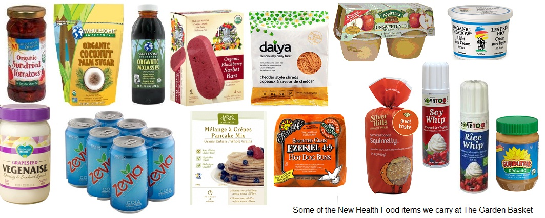 Pictures of healthy food products